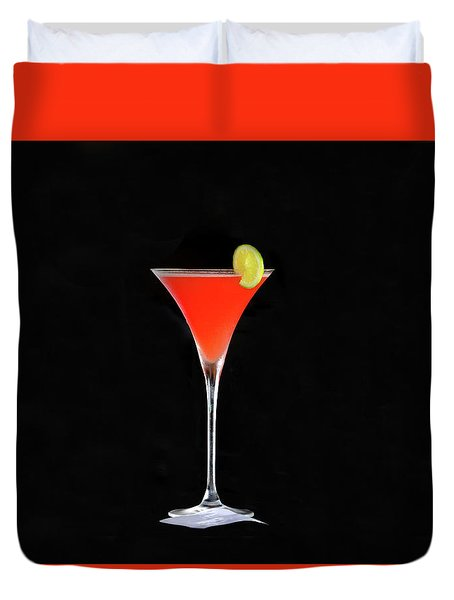 Duvet Cover featuring the photograph The Perfect Drink by David Lee Thompson