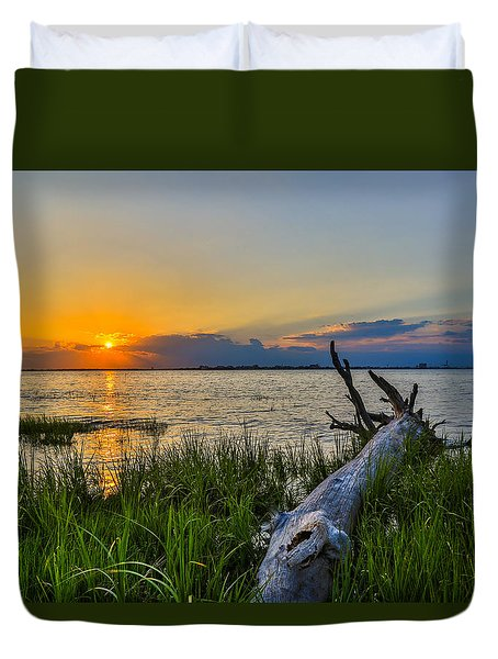 The Perfect Setting - Charleston Sc Duvet Cover