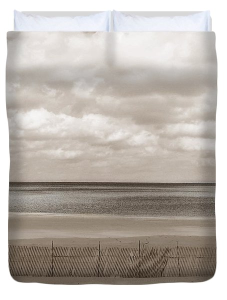The Perfect Sky Is Torn Duvet Cover by Dana DiPasquale