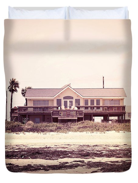 Duvet Cover featuring the photograph The Perfect Summer by Trish Mistric