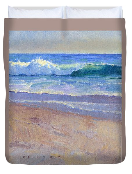 The Healing Pacific Duvet Cover