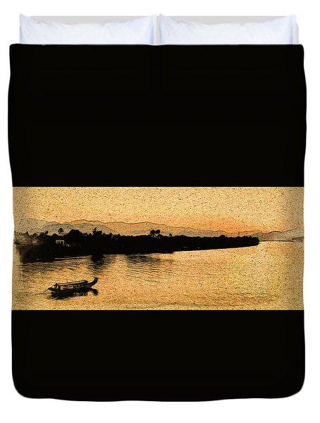 The Perfume River Duvet Cover