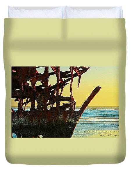 The Peter Iredale 4 Duvet Cover