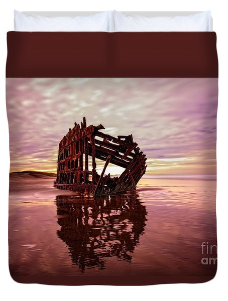 The Peter Iredale 2 Duvet Cover