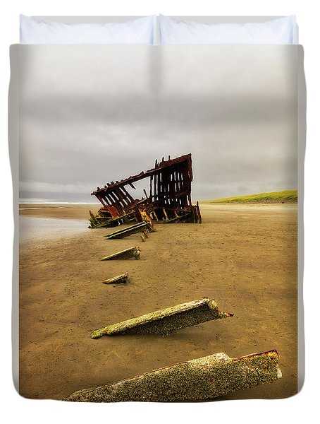 The Peter Iredale Duvet Cover