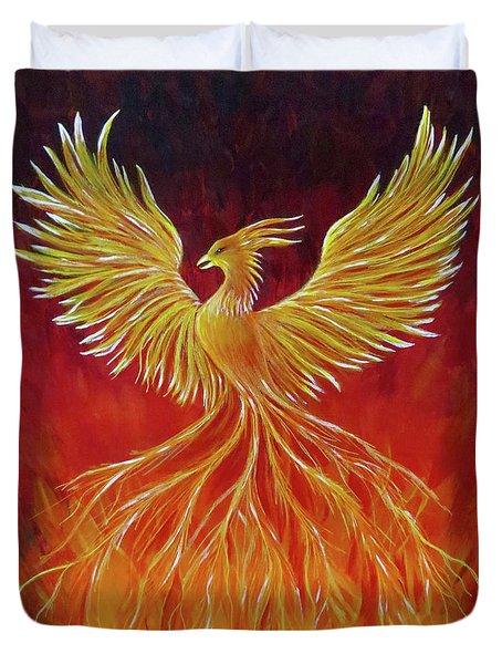 The Phoenix Duvet Cover