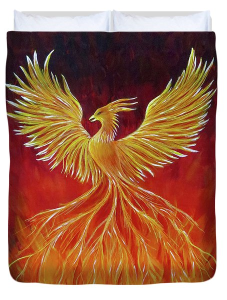 The Phoenix Duvet Cover