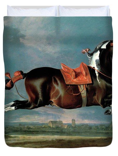 The Piebald Horse Duvet Cover