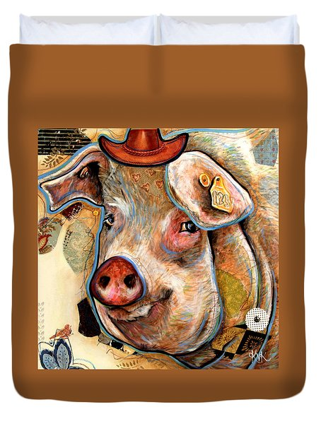 The Pig Duvet Cover