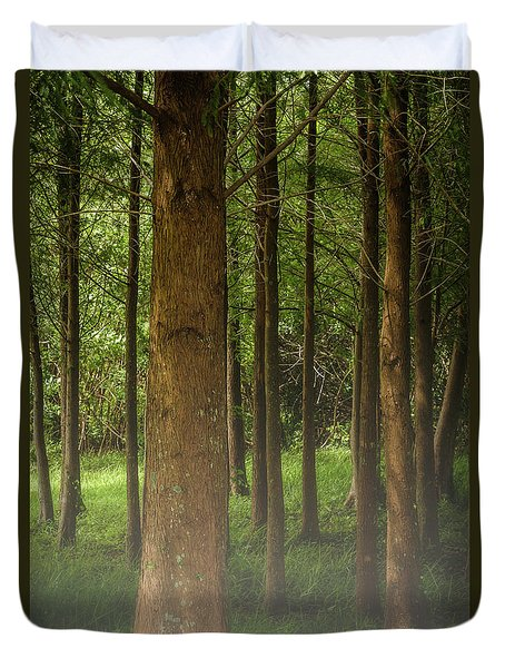 The Pines Duvet Cover
