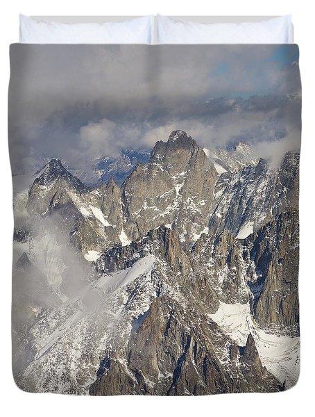 The Pinnacle Duvet Cover