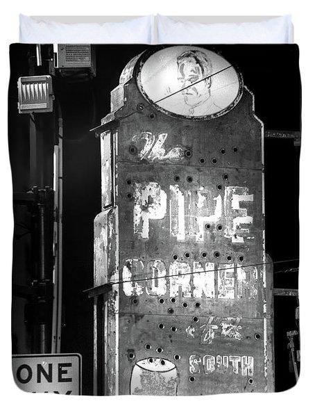 The Pipe Corner Duvet Cover