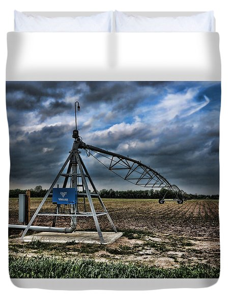 The Pipe Line Duvet Cover