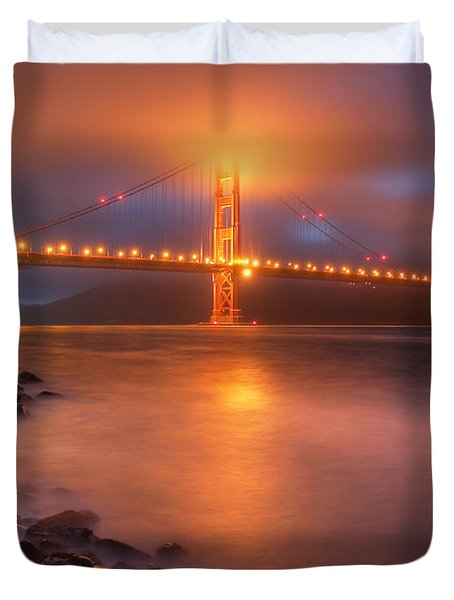 The Place Where Romance Starts Duvet Cover