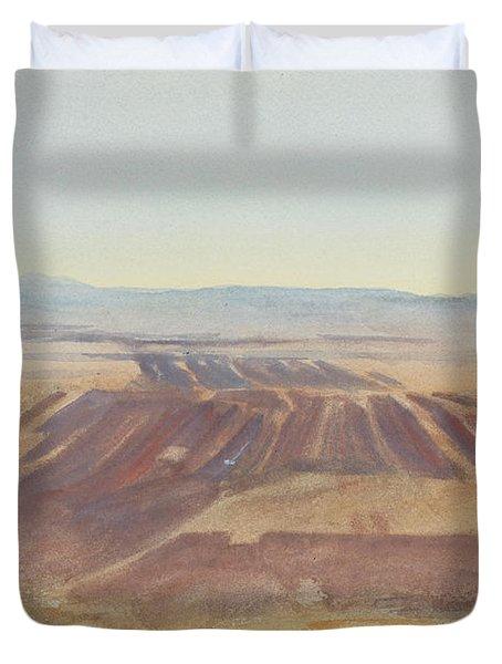 The Plains Of Nazareth Duvet Cover