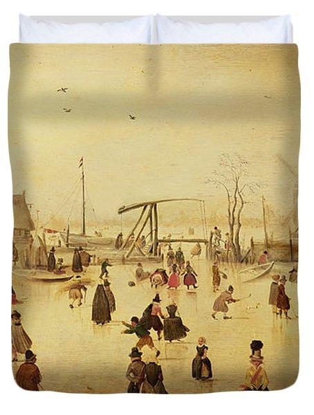 The Pleasures Of Winter Duvet Cover