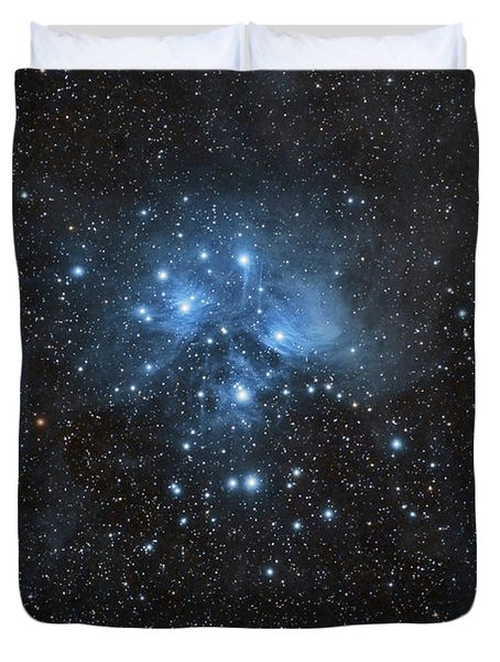 The Pleiades, Also Known As The Seven Duvet Cover by John Davis