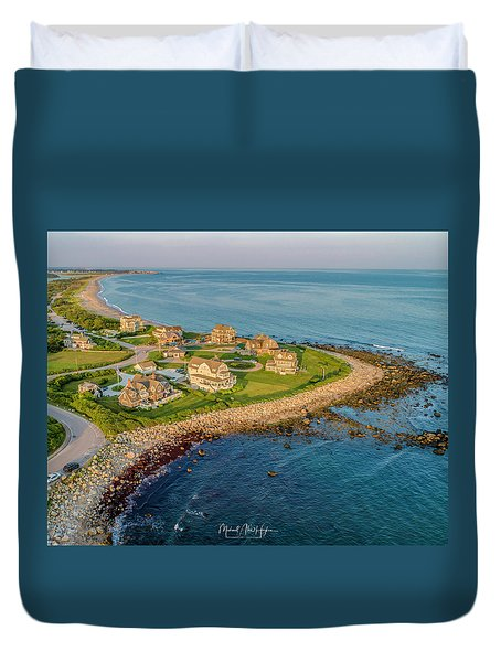 The Point At Weekapaug Duvet Cover