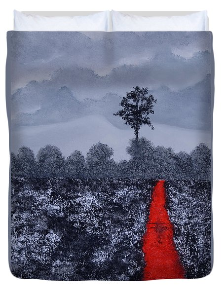 The Poison Stream Duvet Cover by Stanza Widen