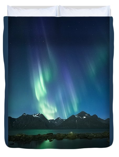 The Pond And The Fjord Duvet Cover