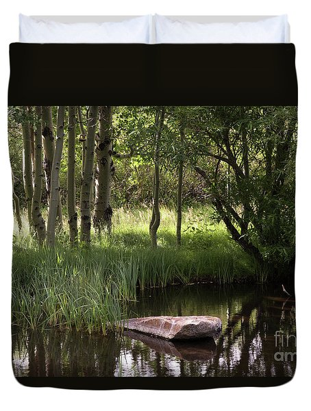 The Pond  Duvet Cover