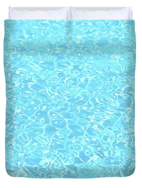 The Pool Duvet Cover