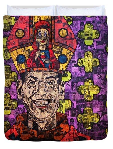 The Pope Of Trash Duvet Cover