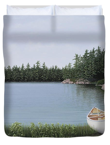 The Portage Duvet Cover
