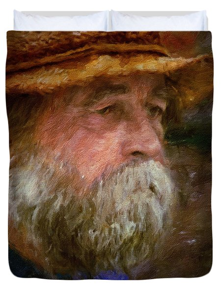 The Portrait Of A Man Duvet Cover