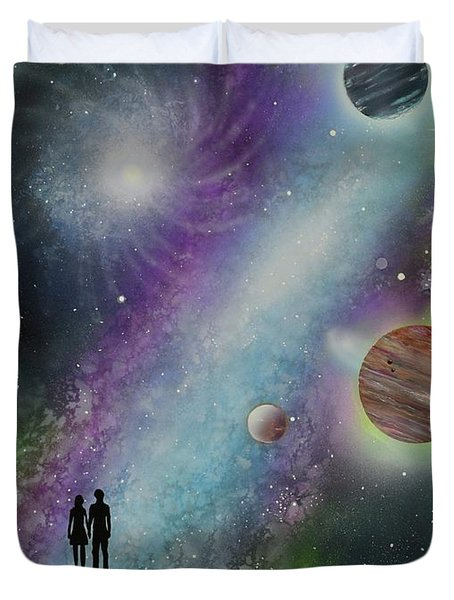 The Possibilities Duvet Cover