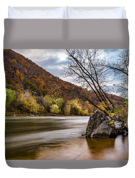 The Shenandoah In Autumn Duvet Cover