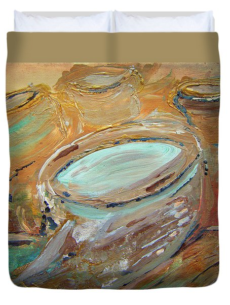 The Potter Canvas Duvet Cover