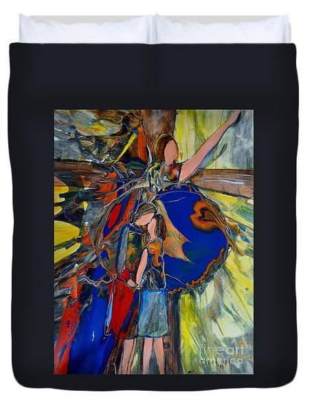 The Power Of Forgiveness Duvet Cover