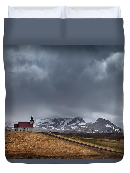 The Power Of God Duvet Cover