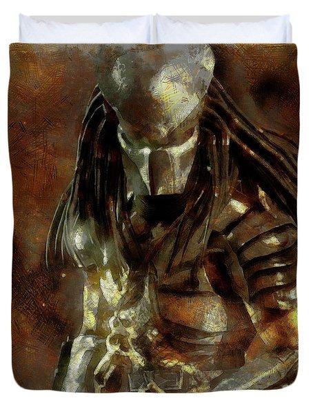 The Predator Scroll Duvet Cover