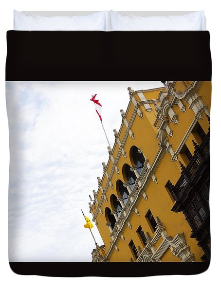 The Presidential Palace Duvet Cover