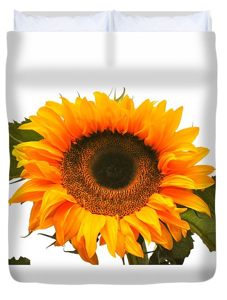 The Prettiest Sunflower Duvet Cover