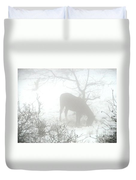 The Primal Mist Duvet Cover by Annemeet Hasidi- van der Leij