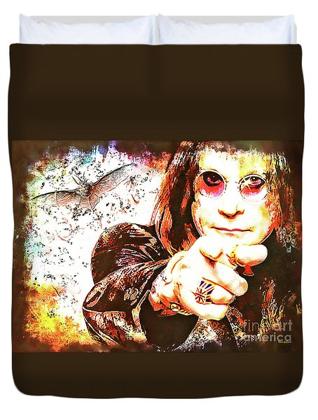 The Prince Of Darkness Duvet Cover