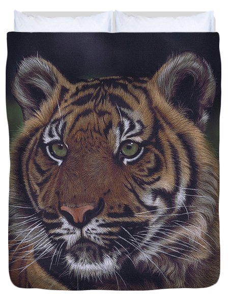 The Prince Of The Jungle Duvet Cover