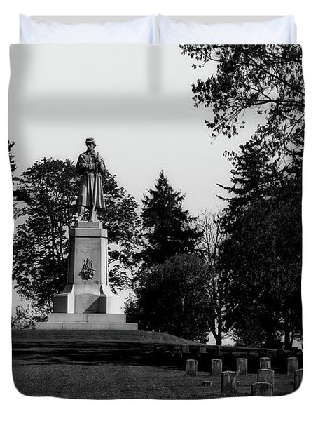 The Private Soldier Monument - Antietam Duvet Cover