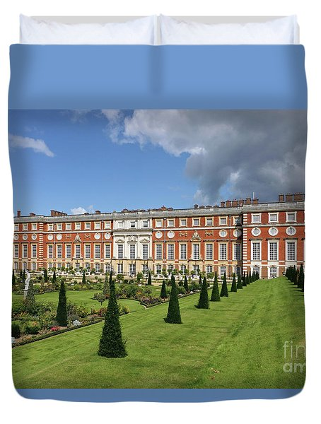 The Privy Garden Hampton Court Duvet Cover