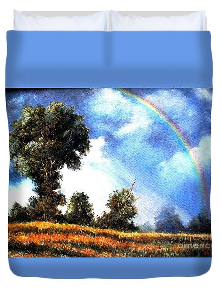 The Promise  Duvet Cover by Hazel Holland
