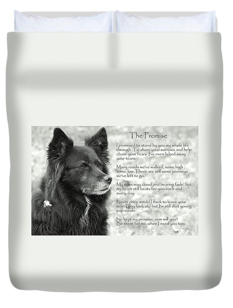 The Promise Duvet Cover