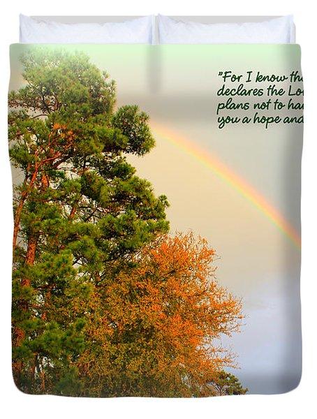 The Promises Of God Duvet Cover
