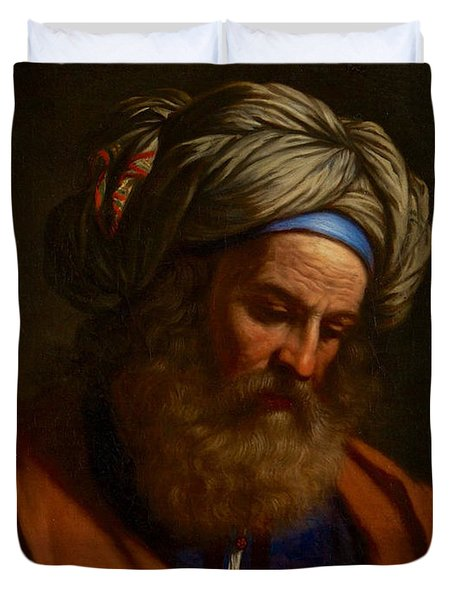 The Prophet Isaiah Duvet Cover