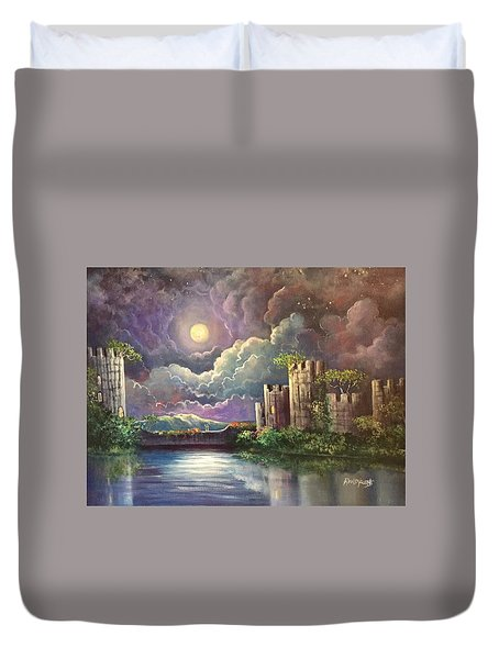 The Proposal Duvet Cover by Randy Burns