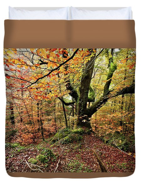 The Protector Duvet Cover by Jorge Maia