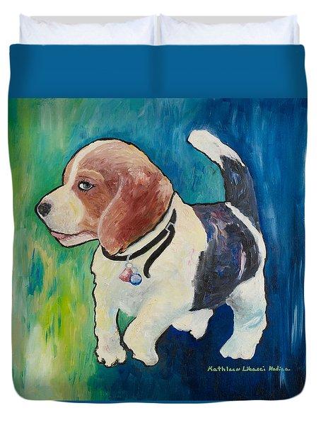 The Proud Puppy Duvet Cover