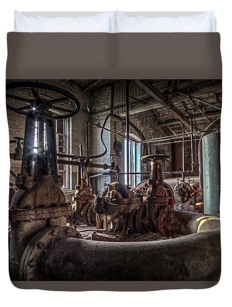 The Pumphouse Duvet Cover by Everet Regal